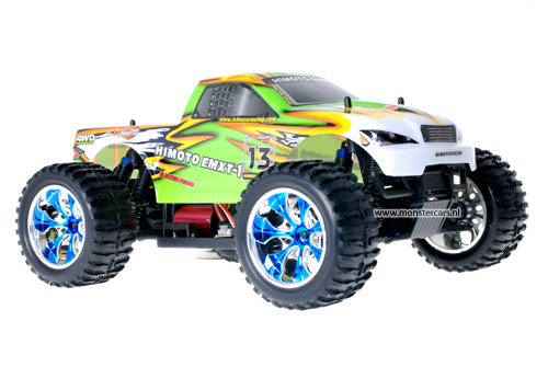 Himoto Brushless Truck Green Venom 2.4GHz AANBIEDING!